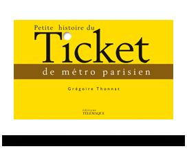 kit visuels de couverture Petite histoire du Ticket de métro parisien