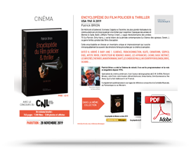 Télécharger le communiqué de presse Encyclopedie du film policier & thriller –USA 1961-2019 • Patrick Brion