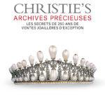 Visuel de première de couverture de Christie's Archives précieuses • Vincent Meylan