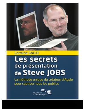 Les secrets de présentation </br>de Steve Jobs