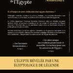 Quatrième de couverture Le Fabuleux héritage de l'Égypte édition 2019