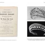 Diadème de feuillages en diamants & diadème de perles et diamants : catalogue de vente des joyaux de la couronne russe (1927)
