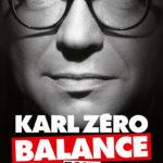 Première de couverture de Karl Zéro balance tout