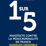 Première de couverture de 1 sur 5, manifeste contre la pédocriminalité en France